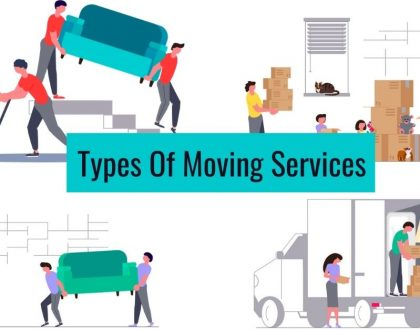 8 Types Of Moving Services
