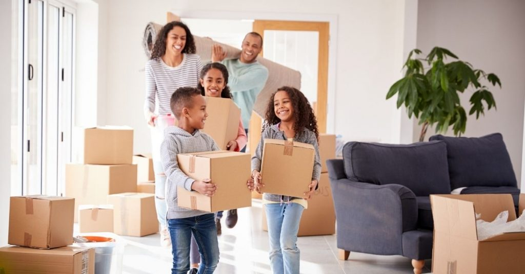 Self-service moving
