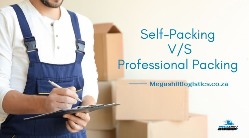 Self-Packing vs. Professional Packing