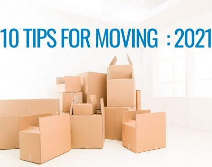 10 Tips for Moving in 2021